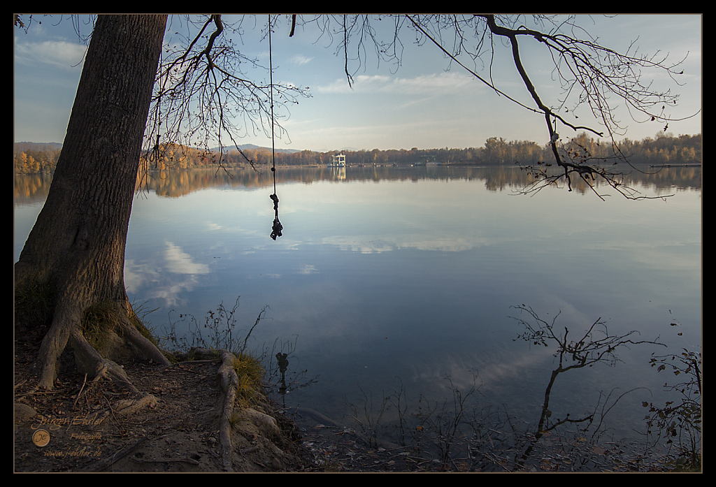 Burkheimer Baggersee am 1.November 2014