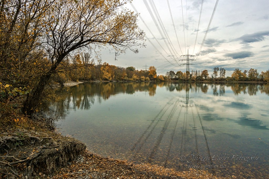 Herbst am Badesee